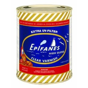 EPIFANES CLEAR VARNISH uv protect 1000 ML.