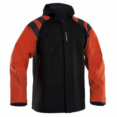 GRUNDENS BALDER JACKET 320 BLACK/ORANGE T-M