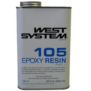 WEST SYSTEM EPOXY RESIN 105B 5KG (BASE)