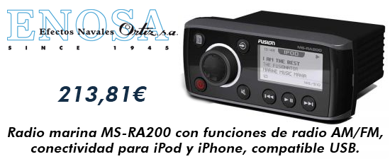 Radio marina MS-RA200 iPod iPhone USB